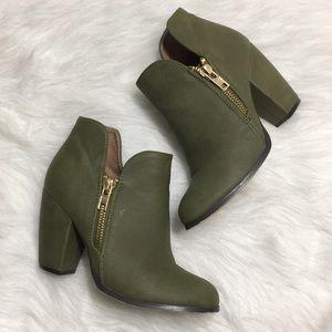 Michael Antonio Green Ankle Boots